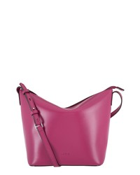 LODIS Los Angeles Rfid Leather Crossbody Bucket Bag