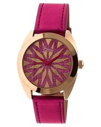 Boum Boum Etoile Watch With Genuine Leather Strap