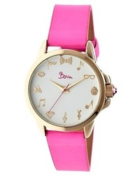 Boum Boum Rendezvous Watch With Leather Strap