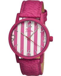 Boum Gateau Bm1103 Hot Pink Leatherhot Pinkwhite Wrist Watches