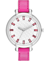 jcpenney Fashion Watches Baguette Crystal Watch