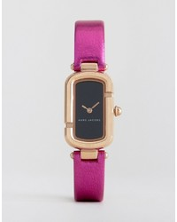 Marc Jacobs Mj1502 Metallic Pink Leather Watch