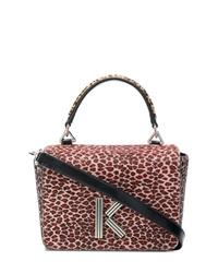 Kenzo Leopard Print Tote