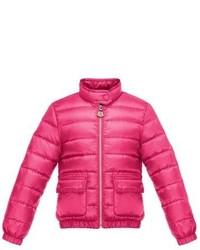 Moncler Girls Lans Water Resistant Down Jacket