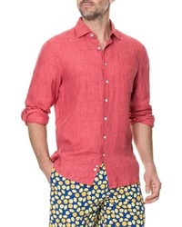 Rodd & Gunn Harris Bay Regular Fit Linen Sport Shirt
