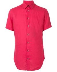 Giorgio Armani Short Sleeve Fitted Shirt