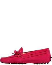 Hot Pink Loafers