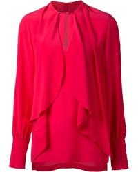 Givenchy Draped Front Blouse