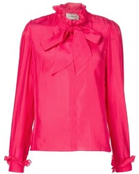 Lanvin Pussy Bow Blouse