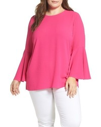 Vince Camuto Plus Size Bell Sleeve Blouse