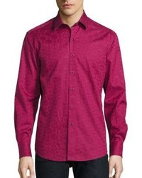 Robert Graham Cullen Cotton Button Down Shirt