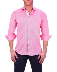Maceoo Einstein Button Up Cotton Stretch Shirt