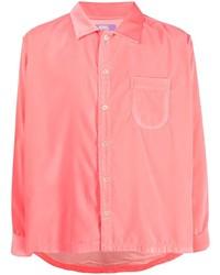 ERL Long Sleeved Velvet Shirt