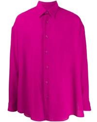 Ami Paris Oversized Side Slits Shirt