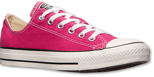 1e2909b7b8c3ed ... free shipping 49 hot pink low top sneakers converse unisex chuck taylor  ox casual shoes on ...
