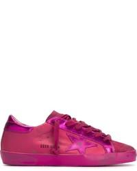 Women's Hot Pink Sneakers by Golden