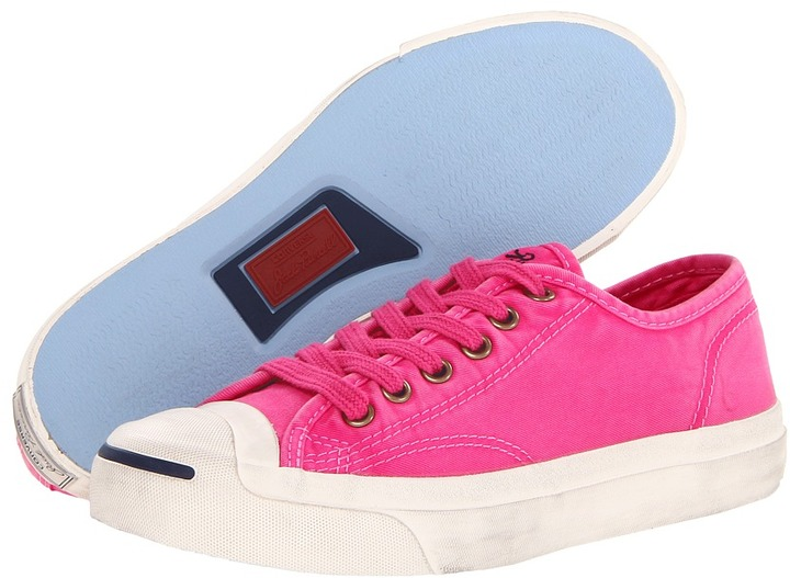 96160ff2c3c8 ... Pink Low Top Sneakers Converse Jack Purcell Ltt Washed Ox ...