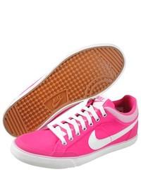 Nike Capri Iii Canvas Pink Fashion Sneakers