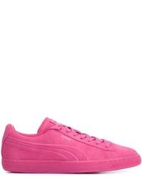 zapatillas puma hombre rosas