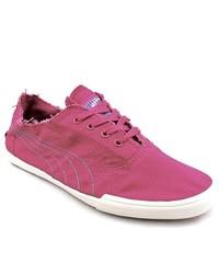 Puma Tekkies Ska Footbed Oc Pink Textile Athletic Sneakers Shoes