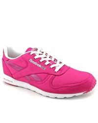 Reebok Cl Lthr Clean Ultralite Pink Sneakers Shoes Uk 7