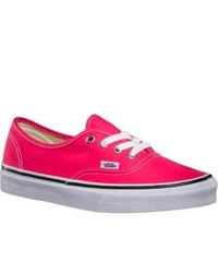Vans Authentic Rouge Redtrue White Fashion Sneakers