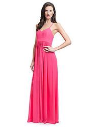 Belle Badgley Mischka X Back Maxi Dress