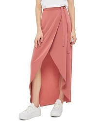 Highlow wrap maxi skirt medium 4950661