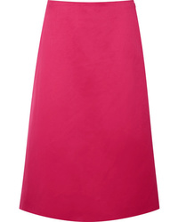 Hot pink midi skirt original 4378020