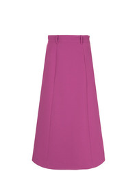 G.V.G.V. Round Hem Mid Length Skirt