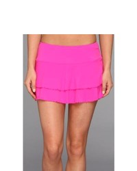 Body Glove Smoothies Lambada Skirt Swimwear Hot Pink