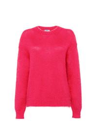 Prada Brushed Mohair Sweater