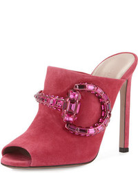 Hot Pink Mules