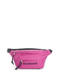 Balenciaga Wheel Nylon Belt Bag