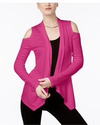 INC International Concepts Cold Shoulder Cardigan Only At Macys