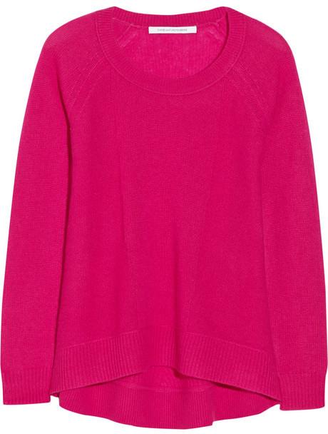 Diane von Furstenberg Diane von Furstenberg Ivory cashmere sweater ...