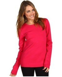 Cynthia Rowley Viscose Crew Neck Sweater
