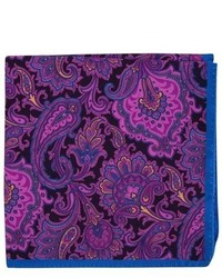 London paisley silk pocket square medium 779025