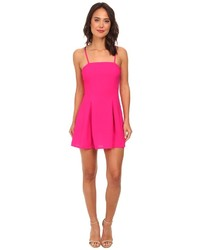 Gabriella Rocha Crepe Slip Fit Flare Dress