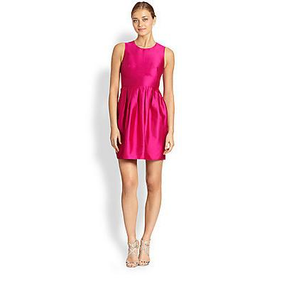 Where To Buy Shoshanna Dresses Arabella Dress Fuchsia