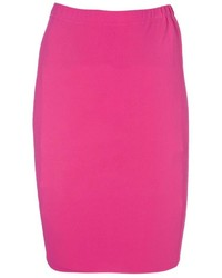 Hot pink pencil skirt original 4379728