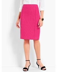 Talbots Fringe Amherst Tweed Skirt