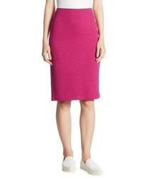 Ottoman jersey pencil skirt medium 4397456