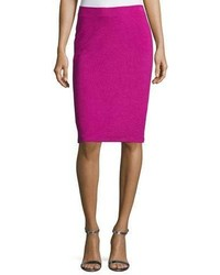 Ottoman ribbed jersey pencil skirt medium 4984174