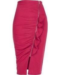 73468134b3 Women's Hot Pink Pencil Skirts by River Island | Women's Fashion ...