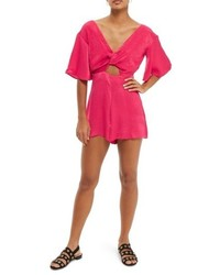 Knot plunge romper medium 5256152