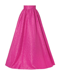 Brandon Maxwell Cloqu Maxi Skirt