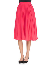 New york accordion pleated midi skirt medium 174998