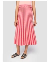 Derek Lam 10 Crosby Pleated Knit Skirt