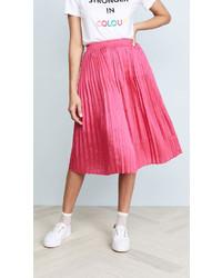 Pleated midi skirt medium 7013440